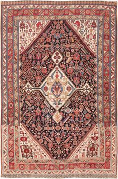 Antique Persian Qashqai Tribal Rug 47397 Main Image - By Nazmiyal
