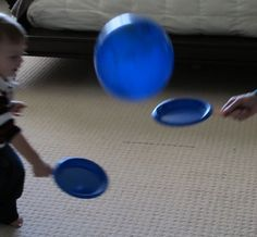 Balloon Ping Pong by carrotsareorange: Keeping it simple! #Kids #Balloon_Ping_Pong #carrotsareorange