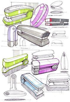 Daily Sketches from Industrial Designer, Spencer Nugent - Page 376 Pop Design, Sketch Design, Design Model, Design Lab, Design Concepts, Graphic Design, Sketch A Day, Hand Sketch, Industrial Design Sketch