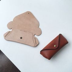 Coming soon. Tab Glasses Case. Reinforced Veg Tanned Leather.