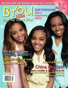 McCLAIN Looks Amazing On The Cover Of BYOU Magazine's March/April 2014 Issue