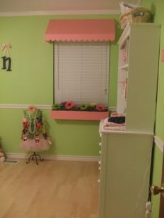 Baby Girl Nursery Complete With Flower Box! - Design Dazzle