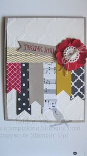 stampin king: Cased it Love this Layout!!! #stampinup