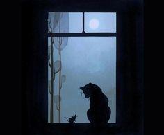 dreamsinthyme: Good Night Caturday