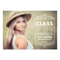 Classy Overlay 2 | Graduation Party Invitation
