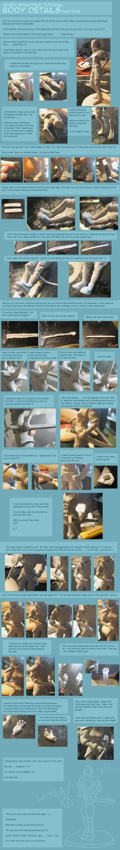 There we are, tutorial part three with sculpting the head. I learned what I used up there from here mainly >>> Hopefully with the use of both this and that you can sculpt way better heads ...