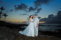 Artistic capture just after sunset.. Maui Weddings