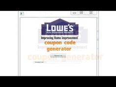 Lowes Coupon Code Generator $595