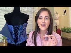 Curso de Corsé Paso a Paso. - YouTube Corset Pattern, Fashion Design Drawings, Diy Flowers, Designs To Draw, Barbie, Youtube, Bridal, Sewing, Beautiful