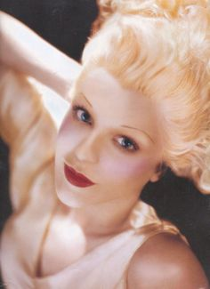 Courtney Love as Constance Bennett | Transformation by Kevyn Aucoin