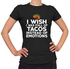 Taco Shirt Funny T-Shirt I Love Tacos Food T Shirt Cinco De Mayo Taco Gift Mexican Food Taco Tuesday Taco Party Introvert Foodie by Umbuh on Etsy https://www.etsy.com/listing/213909818/taco-shirt-funny-t-shirt-i-love-tacos