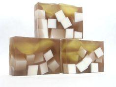 Glycerin Soap, Iced Tea with Lemon, Goat Milk Soap, Handmade Soap, Fun Soap, Summer Soap
