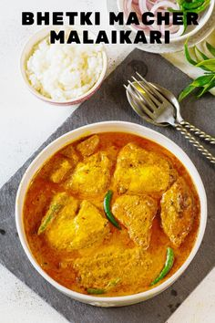 You must have heard about very popular Chingri or prawn malaikari. This is a twist to that and made with Bhekti fish. this is Bhekyi Malaikari. #bhetkimachermalaikari #bengalifishcurry #bengalifishcurryrecipe #bhetkimacherjhol