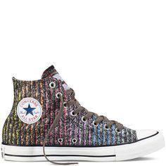 Converse - Chuck Taylor All Star Pride - Charcoal/Multi - Hi Top