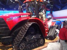 CaseIH 500 Rowtrac featured at Ag Connect 2013.