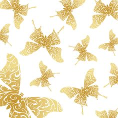 _Vector - Decorative Butterfly Prev by DragonArt