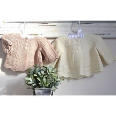 Shell Border Baby Cardigan - P097 Knitting pattern by OGE Knitwear Designs 72dfa4b8c530