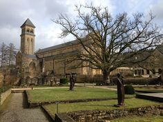 """Abbaye d'Orval in Orval  """"Heavenly Brews, Heavenly Digs"""" [1000 places to see before you die]"""