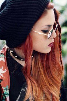 Smart, street-wise, redhead
