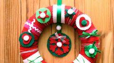 Pour inviter la joie de Noël dans notre maison : une couronne de Noël faite… maison !