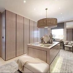 London Proper Dressing Room #closetmuse #interiordesign