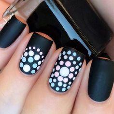 black-nails-cool-ideas-long-square-matte