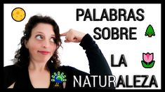 🖤 VOCABULARIO de YOGA | APRENDE 5 palabras sobre 🌳ELEMENTOS de la NATURALEZA 🌸