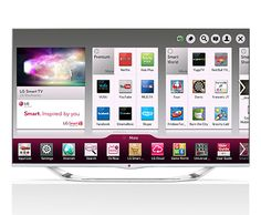 "55"" Class Cinema 3D LED TV with Smart TV, LG"