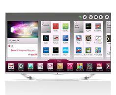 "55"" Class Cinema 3D LED TV with Smart TV, LG"
