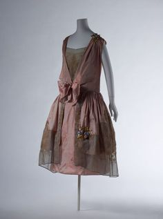 Dress Boué Soeurs, 1923 The Kyoto Costume Institute