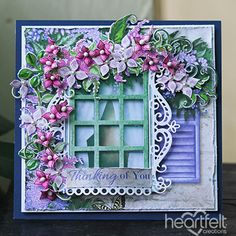 Heartfelt Creations - Covered with Lilacs Project