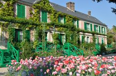 Monet's Home at Giverny~ Decor To Adore's Summer Travel Series 2014