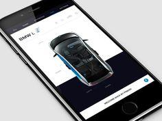 BMW I3 Control by Dima Tischenko