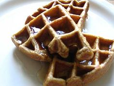 Spiced Pumpkin Waffles Recipe by Lisa Turner Adapted from Post Punk Kitchen and Smitten Kitchen Published on June 2, 2008  Light and fluffy spiced pumpkin waffles — so delicious they'll be gone in no time  Print this recipe  Ingredients: 2 1/2 cups all-purpose flour 2 1/2 teaspoons baking powder 1/2 teaspoon baking soda 1/2 teaspoon salt 2 teaspoons ground cinnamon 1 teaspoon ground ginger 1/4 teaspoon ground cloves 1 cup cooked puréed pumpkin 1/3 cup packed light brown sugar 4 large eggs…