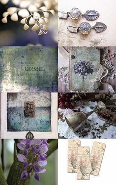 Woodland Spring ¸¸.•*¨*• by Scarlett on Etsy--Pinned with TreasuryPin.com Boho Chic, Shabby Chic, Wild Hearts, Boho Jewelry, Home And Living, Creative Art, Woodland, Decorative Boxes, Artisan