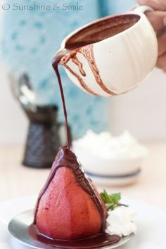 ... (PEAR) RECIPES on Pinterest | Poached Pears, Pears and Mascarpone