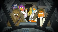 It's A Star Wars Takeover On Club Penguin! #StarWarsTakeover