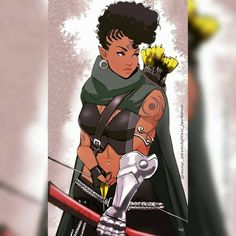 Black Love Art, Black Girl Art, Art Girl, Foto Cartoon, Cartoon Art, Anime Manga, Anime Art, Black Comics, Black Anime Characters