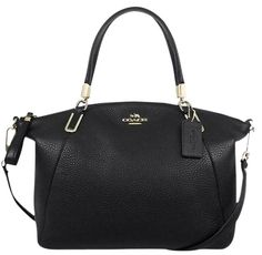 $250 Coach Satchel crossbody in pebbled leather