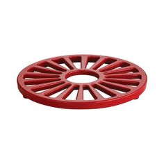 Tramontina Enameled Cast Iron Round Trivet 7Inch Gradated Red -- Find out more about the great product at the image link-affiliate link