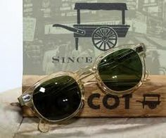 Vintage Moscot Lemtosh Original Sunglasses