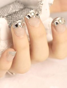 Iced out nails