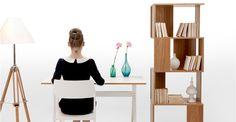 Graphix White Desk | made.com