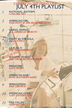Tunes for your #July4 get-together!