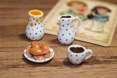 Crepes, Pirogis Dollhouse Handmade Miniature (polymer clay) #handmademiniatures #dollhouseminiature #dollhousefood