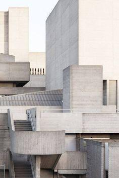 Architectuul in London: Concrete Royal National Theatre