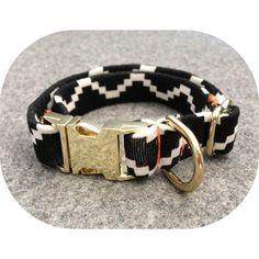 Aztec dog collar