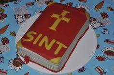 het boek van sinterklaas taart