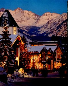 Vail, CO  So beautiful, love it here.  Highly recommend Vail Raquet Club.