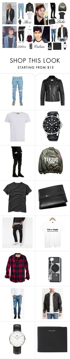 """Impreza #11 (men)"" by memyselfandi5d ❤ liked on Polyvore featuring Topman, Oliver Spencer, Gap, Tommy Hilfiger, G-Star Raw, Banana Republic, Abercrombie & Fitch, Dsquared2, Forever 21 and Daniel Wellington"